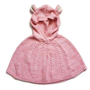 Genuine Kids Oshkosh B'gosh Hooded Sweater Poncho